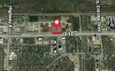 Sally Field I-10 Energy Corridor near Highway 6 Aerial Preview